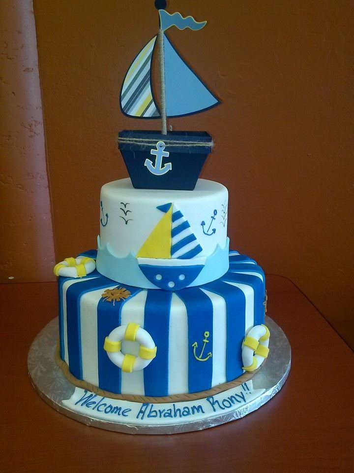 ... Baby Shower Cake · Sailboat ...
